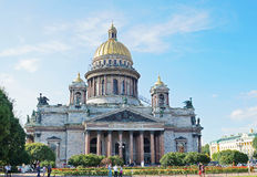 Saint Isaac's Cathedral in St. Petersburg. Russia Stock Images