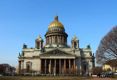 Saint Isaac's Cathedral. St.Petersburg, Russia. Royalty Free Stock Photo