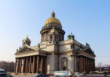 Saint Isaac's Cathedral. St.Petersburg, Russia. Royalty Free Stock Images