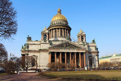 Saint Isaac's Cathedral. St.Petersburg, Russia. Royalty Free Stock Image
