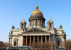 Saint Isaac's Cathedral. St.Petersburg, Russia. Royalty Free Stock Photography