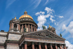 Saint Isaac's Cathedral in St Petersburg, Russia Royalty Free Stock Images