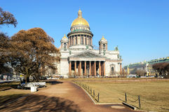 Saint Isaac's Cathedral in St. Petersburg, Russia Royalty Free Stock Image