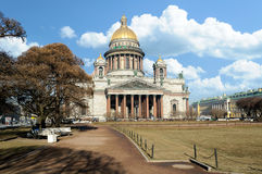 Saint Isaac's Cathedral in St. Petersburg, Russia Royalty Free Stock Photo