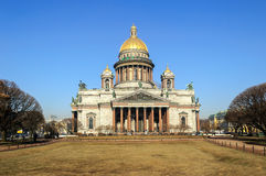 Saint Isaac's Cathedral in St. Petersburg, Russia Stock Photography