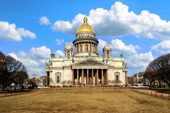 Saint Isaac's Cathedral in St. Petersburg, Russia Royalty Free Stock Images