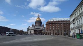 Saint Isaac Cathedral. In St. Petersburg Royalty Free Stock Image
