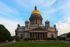 Saint Isaac's Cathedral in St. Petersburg Royalty Free Stock Photography