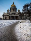Saint Isaac Cathedral, St. Petersburg, Russia Stock Images