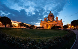 Saint Isaacs Cathedral in Saint Petersburg Royalty Free Stock Image