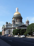 The Saint Isaacs cathedral, St. Petersburg. Russia Royalty Free Stock Image