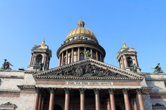 Saint Isaacs Cathedral. St.Petersburg, Russia. Stock Photos