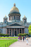 Saint Isaacs Cathedral in St. Petersburg Stock Image