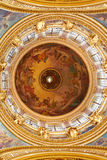 Saint Isaak Cathedral, interior of the main dome. Stock Photos