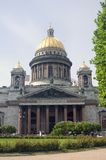 Saint Isaak cathedral in Saint-Petersburg city, Russia. Royalty Free Stock Photography