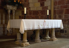 Saint Isidoro´s altar Royalty Free Stock Photography