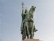 Saint Istvan statue. Budapest, Hungary Stock Image