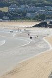 Saint Ives beach and bay, Cornwall, England Stock Photo