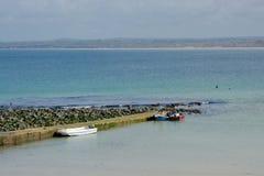 Saint Ives beach and bay, Cornwall, England Stock Photography