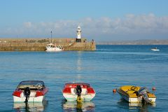 Saint Ives harbour, Cornwall, England Stock Photography