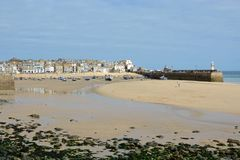 Saint Ives Harbour,Cornwall, England Royalty Free Stock Photo