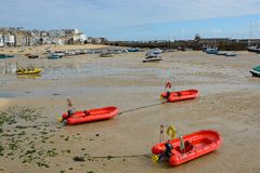 Saint Ives Harbour,Cornwall, England Royalty Free Stock Photos