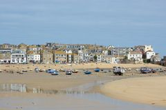 Saint Ives Harbour,Cornwall, England Royalty Free Stock Photography