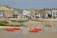 Saint Ives Harbour,Cornwall, England Royalty Free Stock Images