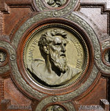 Saint jacob Bas-relief Royalty Free Stock Image