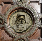 Saint jacob Bas-relief Royalty Free Stock Images