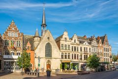 Saint Jacob chapel in the streets of Lier - Belgium. LIER,BELGIUM - MAY 17,2018 - Saint Jacob chapel in the streets of Lier. Lier is a municipality located in royalty free stock photos