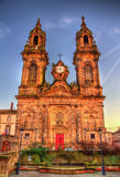 Saint Jacques chuch of Luneville - France Royalty Free Stock Photos