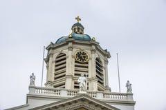 Saint Jacques-sur-Coudenberg in Brussels, Belgium Stock Photo