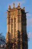 Saint Jacques Tower em Paris Imagens de Stock