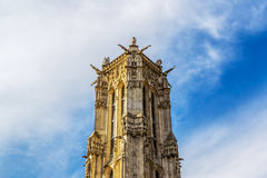 Saint Jacques tower Royalty Free Stock Photo