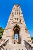 Saint Jacques tower paris city France Stock Images