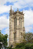 Saint-Jacques Tower in Paris Royalty Free Stock Images
