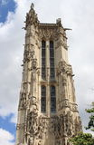 Saint-Jacques Tower in Paris Royalty Free Stock Photos