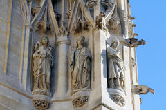 Saint Jacques Tower, Paris Royalty Free Stock Images