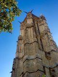 Saint Jacques tower. View of the Saint Jacques tower in Paris Royalty Free Stock Photography