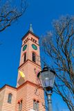 Saint Jakob church in Friedberg. Bavaria, Germany Royalty Free Stock Photo
