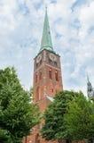 Saint Jakobi Church in Luebeck, Germany Royalty Free Stock Image