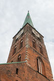 Saint Jakobi Church in Luebeck, Germany Stock Images