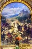 Saint James Against Moors Painting San Francisco El Grande Stock Photography