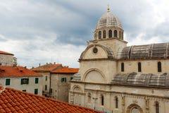 Saint James cathedral in Šibenik Royalty Free Stock Images