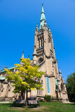 Saint James Cathedral in Toronto Stock Image