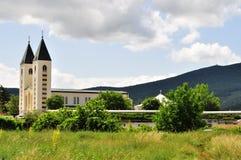 Saint James Church (St. Jakov) Medjugorje - Hotel Pansion Porta - Bosnia Herzegovina - Creative Commons by gnuckx Stock Images