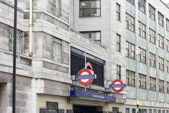 Saint James Park Station - London Stock Photography