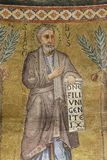 Saint James. Mosaic in the basilica of Saint Paul Outside the Walls, Rome, Italy royalty free stock image