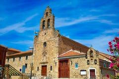 Saint James Way d'Astorga d'église de San Francisco Images libres de droits